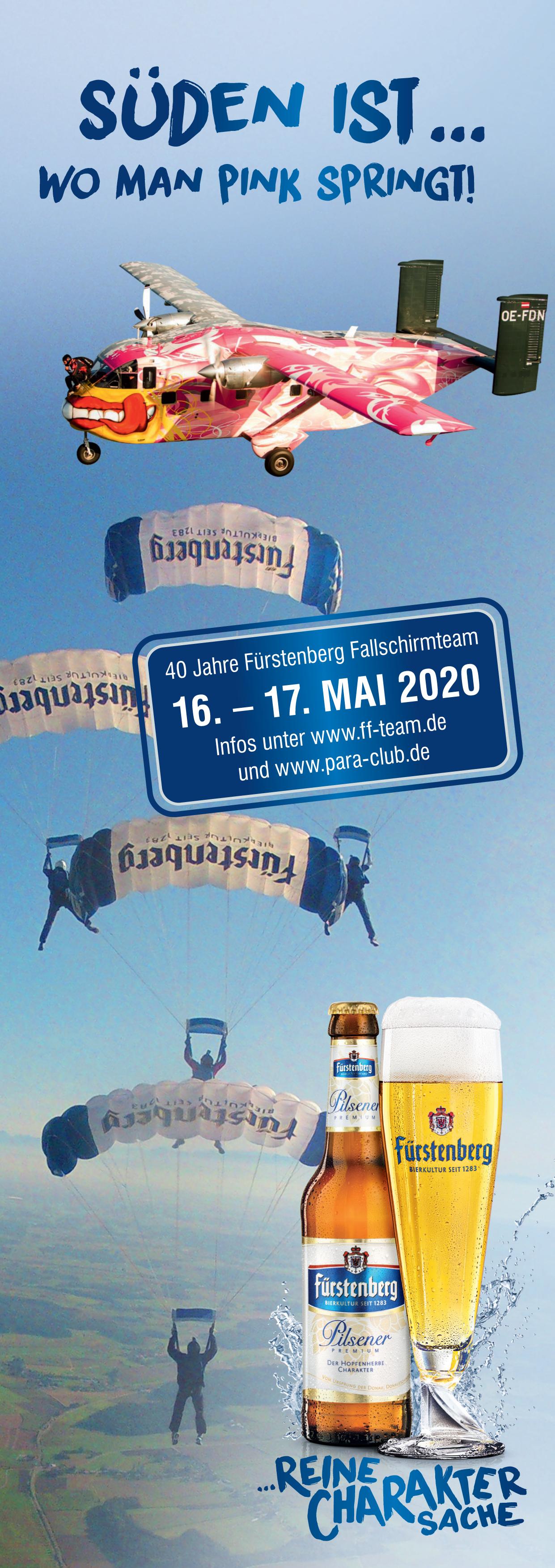 Pink Boogie Schwenningen 16.-17. Mai 2020